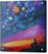 The Sky Acrylic Print