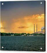 The Sky Is Falling Acrylic Print