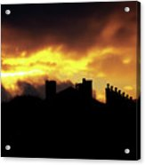 The Sky Is On Fire Sunrise Acrylic Print