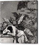 The Sleep Of Reason Produces Monsters Acrylic Print by Goya