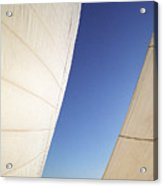 The Slot A Space Between Sails That Sailor's Know Acrylic Print