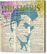 THE SMITHS on dictionary page Acrylic Print