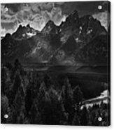 The Snake River Acrylic Print
