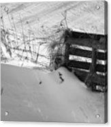 The Snow Gate  Acrylic Print