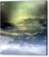 The Snow Queen Acrylic Print