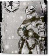 The Snowtrooper Acrylic Print
