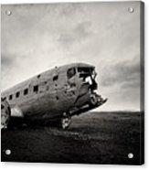 The Solheimsandur Plane Wreck Acrylic Print