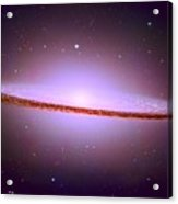 The Sombrero Galaxy M104 Acrylic Print