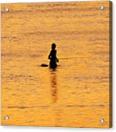 The Son Of A Fisherman Acrylic Print by David Lee Thompson