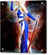 The Sorceress And The Sword Acrylic Print