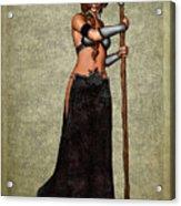 The Sorceress Mage Acrylic Print