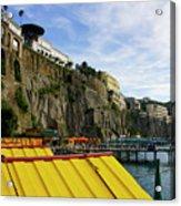 The Sorrento Coast Acrylic Print