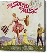 The Sound Of Music, Poster Art, Julie Acrylic Print