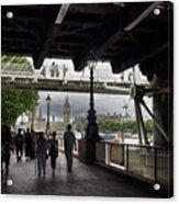 The Southbank, London Acrylic Print