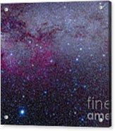 The Southern Milky Way Acrylic Print