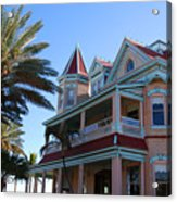 The Southernmost House In Key West Acrylic Print