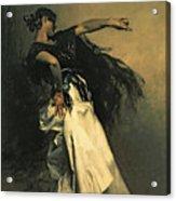 The Spanish Dancer Acrylic Print