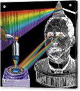 The Spectre Of Chromatopia Acrylic Print by Eric Edelman