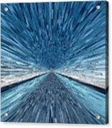 The Speed Of Light Acrylic Print