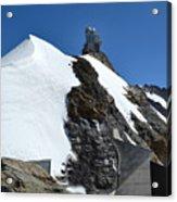 The Sphinx At Jungfrau Acrylic Print