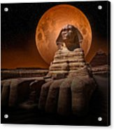 The Sphinx Acrylic Print