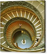 The Spiral Staircase Acrylic Print