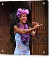 The Spirit Of Aloha Acrylic Print