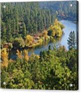 The Spokane River  Acrylic Print
