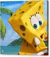 The Spongebob Movie Sponge Out Of Water Acrylic Print
