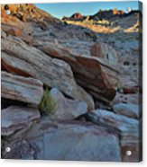 The Spotlight Fades At Valley Of Fire Acrylic Print