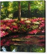 The Spring In Washington Acrylic Print