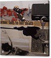 The Spy's Death Acrylic Print