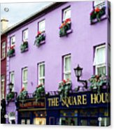 The Square House  Athlone Ireland Acrylic Print