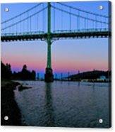 The St Johns Bridge Acrylic Print