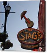 The Stage Nashville Acrylic Print