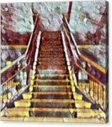 The Stair Acrylic Print