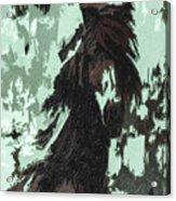 The Stallion At Aztec Acrylic Print