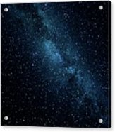 The Stars At Tuttle Creek, Lone Pine, Ca, Usa, September, 2016 Acrylic Print