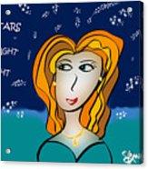 The Stars Look Right Tonight Acrylic Print