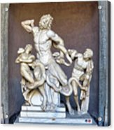The Statue Of Laocoon And His Sons At The Vatican Museum Acrylic Print