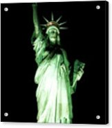 The Statue Of Liberty #2 Acrylic Print