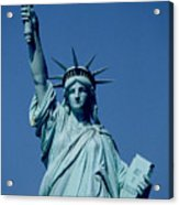 The Statue Of Liberty Acrylic Print by American School