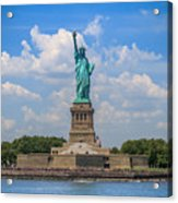 The Statue Of Liberty In New York City Acrylic Print
