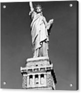 The Statue Of Liberty  Photo Acrylic Print