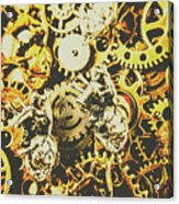 The Steampunk Heart Design Acrylic Print
