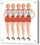 The Stepford Wives Acrylic Print
