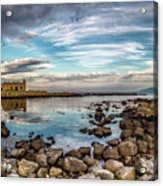 The Stilled Harbour... Acrylic Print
