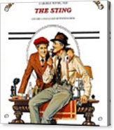 The Sting, The, Robert Redford, Paul Acrylic Print