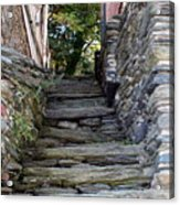 The Stone Stairs Acrylic Print