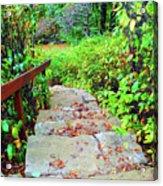 The Stone Steps Acrylic Print